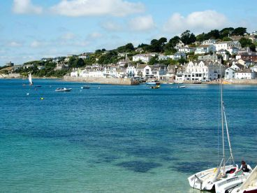 St Mawes on the Roseland Peninsula in Cornwall.