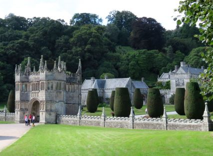 Lanhydrock House and estate in Cornwall.