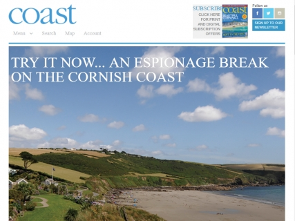 The Nare in Coast magazine.