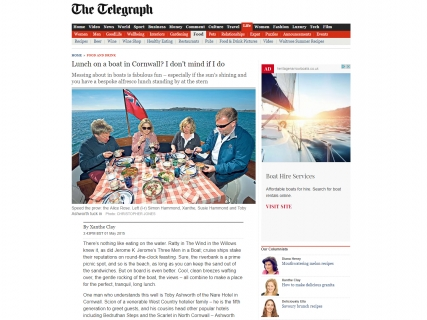 The Nare in The Telegraph lifestyle.