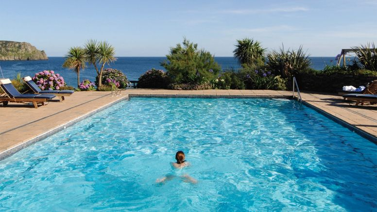 Hotel With Pool Hotels In Cornwall With Hot Tub