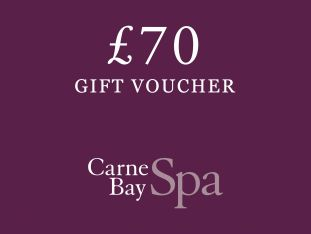 A £70 gift voucher for Carne Bay Spa.