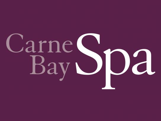 The Carne Bay Spa logo.